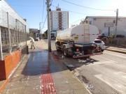 Administração de Forquilhinha reforça a higienização nos espaços públicos
