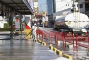 Unidades de Saúde e espaços públicos recebem higienização em Forquilhinha
