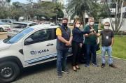 Governo Municipal de Içara adquire carro para compor a frota de veículos