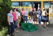 """""""Ônibus da Gratidão"""" passa por escolas municipais de Içara"""