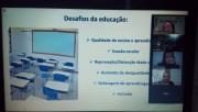 Mudanças na educação durante pandemia é tema de videoconferência em Içara