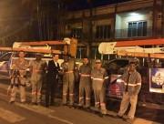Ganha ritmo a manutenção da iluminação pública em Maracajá