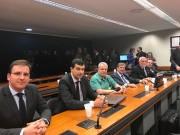 Prefeito e vice retornam de Brasília com recursos assegurados