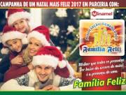 Campanha de Um Natal Mais Feliz 2017 da Família Feliz
