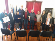 Comitiva de Içara é recebida pelo Legislativo de Santa Cruz das Flores