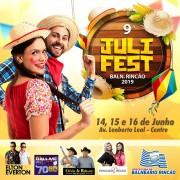 9ª JuliFest acontece nesse final de semana em Balneário Rincão