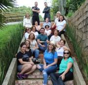 Sessão de fotos alegra o Centro de Convivência da Terceira Idade da Afasc
