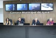 Vereadores realizam primeira sessão ordinária de 2019