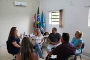 Vereadores de Içara visitam a Escola Municipal Quintino Rizzieri