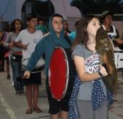 Maracajá rende homenagens na Avenida Nossa Senhora da Conceição