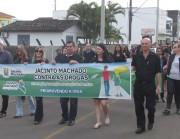 Caminhada contra as drogas mobiliza Jacinto Machado
