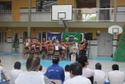 Natal Étnico leva alegria para alunos da Apae de Içara