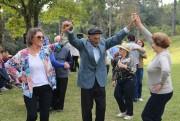 Idosos de Orleans participam do II Piquenique Cultural no Museu ao Ar Livre