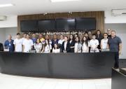 Legislativo recebe visita dos alunos da Escola Salete Scotti dos Santos