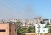 Defesa Civil alerta para riscos de intoxicação com fumaça do incêndio