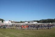 Balneário Rincão é palco para acampamento de escoteiros