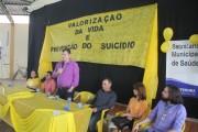 Palestra encerra ações do setembro amarelo em Rincão