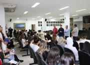 Alunos da Escola Salete Scotti visitam a Câmara Municipal de Içara
