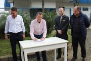 Frigo assina OS para obra de pavimentação da Federico Marazi