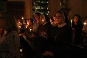 Católicos celebram a Páscoa do Senhor na Catedral São José