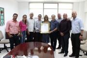 Unesc recebe Moção de Aplausos da Câmara de Criciúma