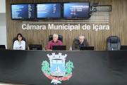 Vereador Mazzuchetti coordenou os trabalhos ordinários do legislativo