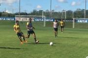 Criciúma E.C. treina forte parte técnica no CT