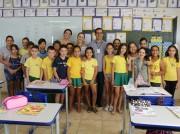 """""""Nunca abandonem seus sonhos"""" diz Arlindo Rocha a estudantes"""