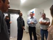 SC Transplantes e Acélio Casagrande fazem visita ao Banco de Olhos