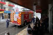 Corpo de Bombeiros realiza plano de evacuação