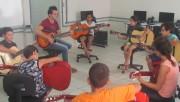 Alunos do Serviço de Convivência de Jacinto Machado começam aulas de música