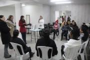Mulheres cadastradas na Afasc Solidária iniciam curso de escovistas