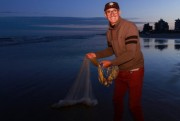 Pescadores animados com a Festa da Tainha em Balneário Rincão