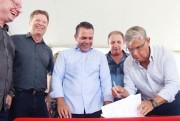 Iniciam obras de revitalização na Rodovia SC-445