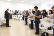 Diocese avalia caminhada e conhece novo coordenador de pastoral