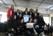 Estudantes da Satc criam projeto de copo sustentável