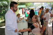 SENAI e SESI levam serviços gratuitos à Praça Nereu Ramos