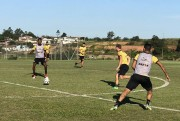 Tigre realiza treino técnico e de finalizações