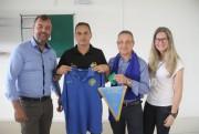 Italianos visitam Centro de Treinamento do Criciúma E.C.