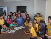 Estudantes do Melchíades visitam prefeitura de Balneário Rincão