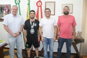 Urussanguense inicia disputa no Panamericano de Muay Thai