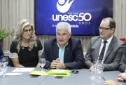 Ministro Marcos Pontes palestra na Unesc e defende parcerias