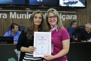 RFCC de Içara recebe moção do Poder Legislativo