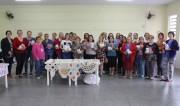 Afasc entrega aos Clubes de Mães materiais para crochê