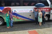 Ônibus de passeio é entregue pelo Governo de Nova Veneza