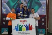 Crianças e adolescentes do SCFV da Afasc participam da 3ª etapa do Circuito Catarinense de Jiu Jitsu