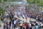 Afasc integra gerações em desfile cívico de 7 de Setembro