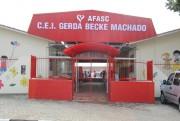 Afasc inaugura CEI Gerda Becke Machado beneficiando crianças