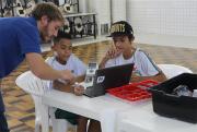 Escolas municipais de Forquilhinha recebem aulas de robótica pela Satc