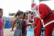 """""""Um dia de Natal"""" leve centenas de pessoas a Praça CEU"""